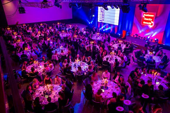 The gala dinner at last year's Business Charity Awards