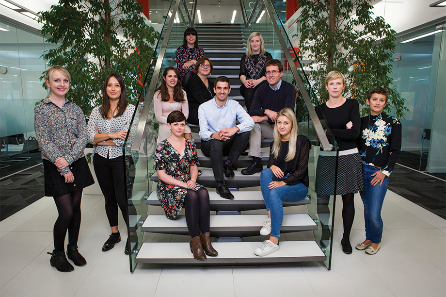 The PR team at the British Heart Foundation