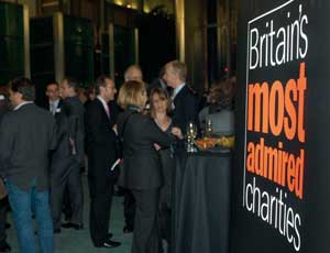 The awards were hosted by Barclays in London's Canary Wharf