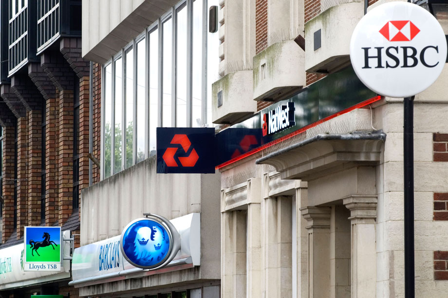Banks: 'derisking'