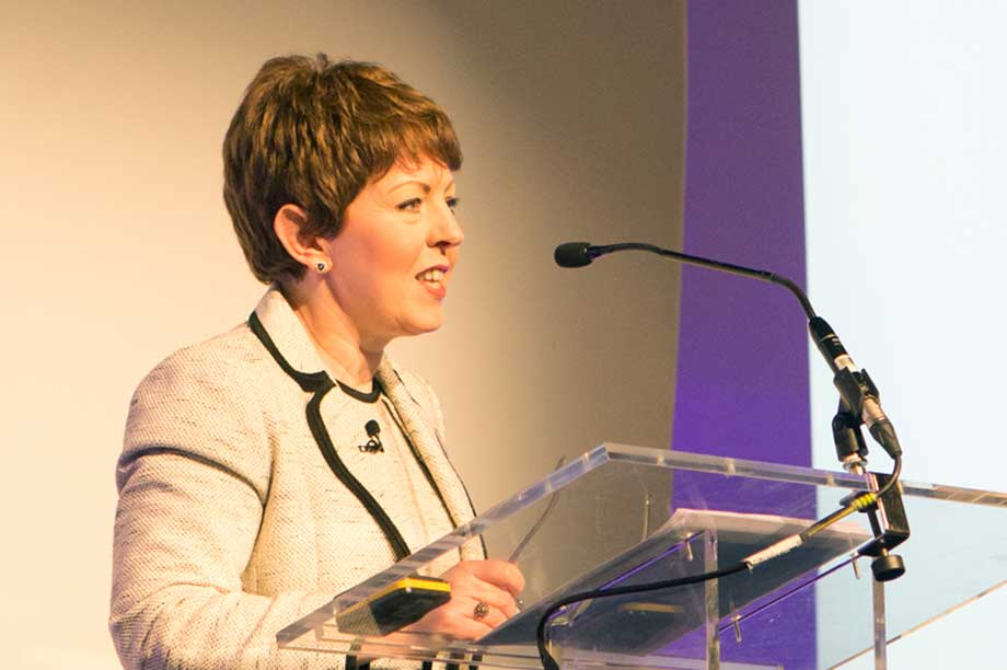 Baroness Stowell (Photograph: NCVO/Rebecca Fennell)