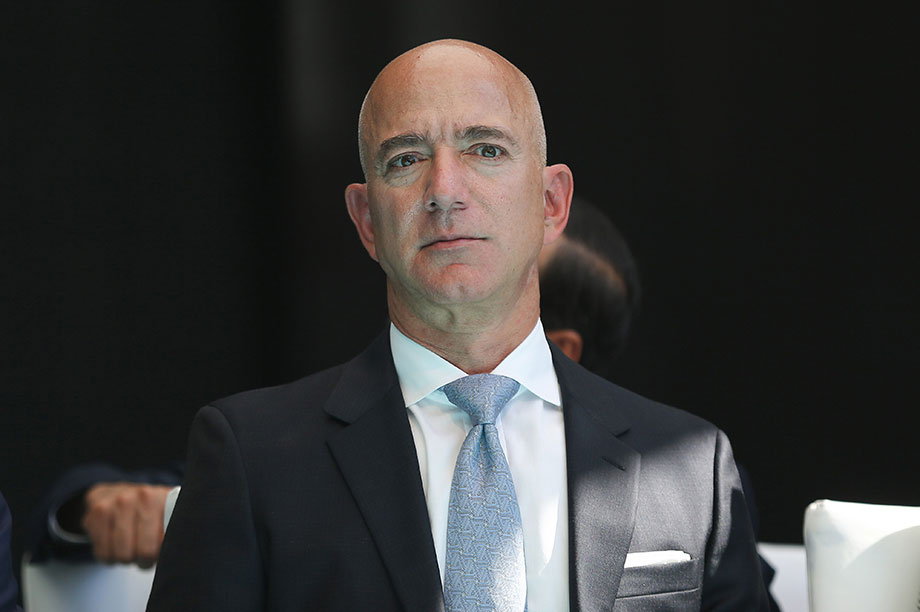 Jeff Bezos (Photograph: Arif Hudaverdi Yaman/Anadolu Agency via Getty Images)