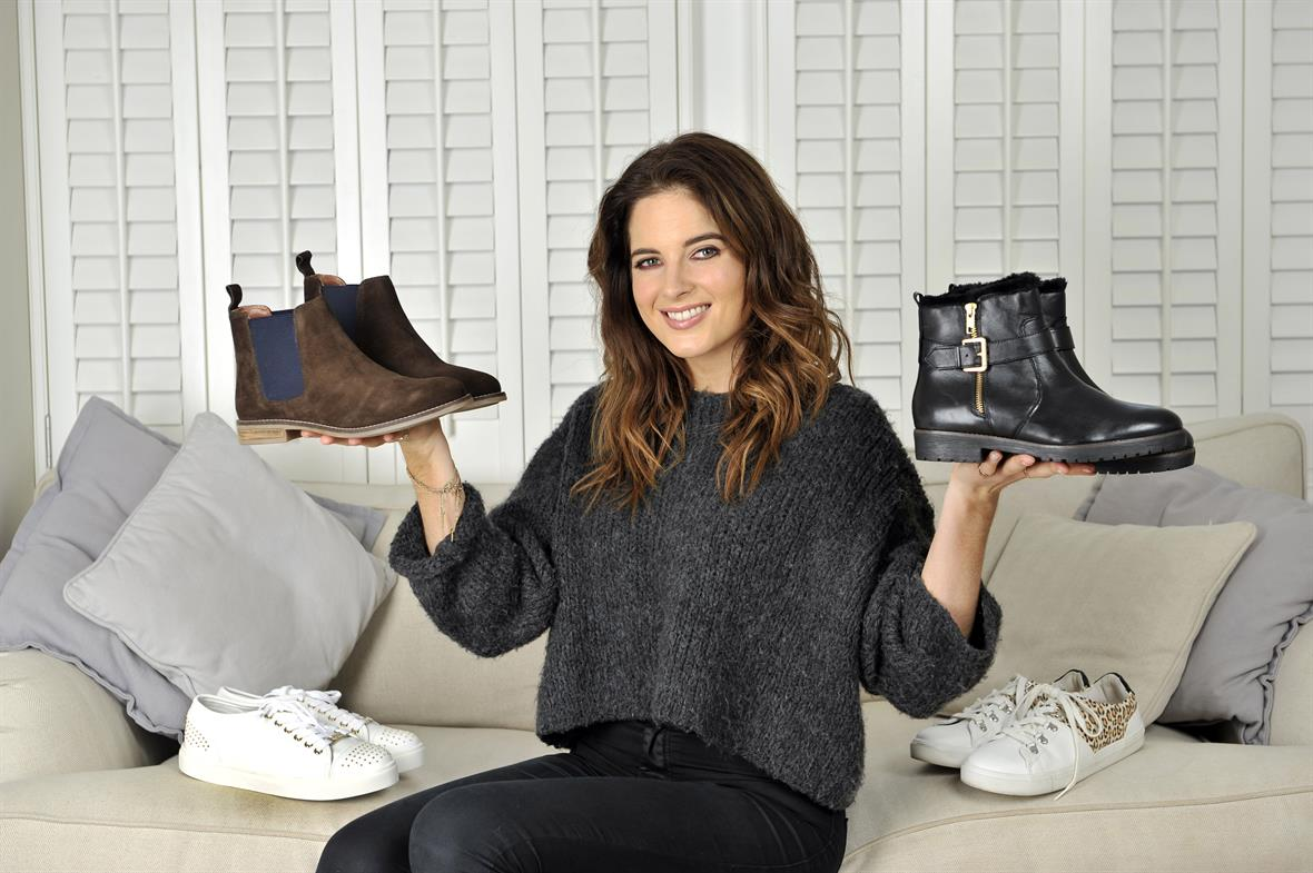 Made in Chelsea's Binky Felstead is among the celebrities raising money (Photograph: Adrian Brooks)