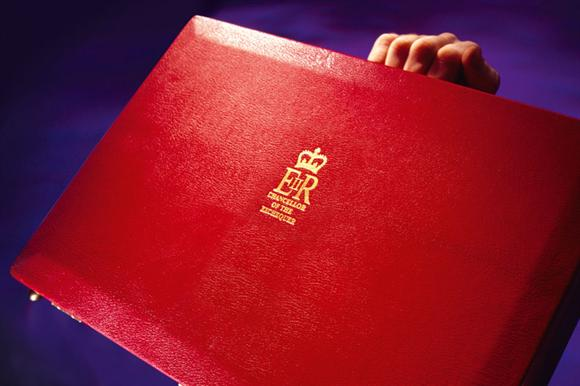 The Chancellor's red box