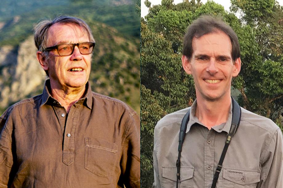 John Burton (left) and Jonathan Barnard
