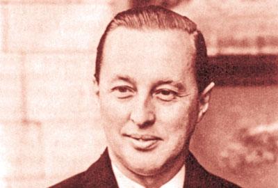 The late William Garfield Weston