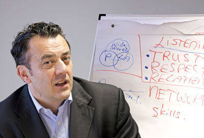 Stephen Kearney, chief executive of Re:generate, is training community organisers