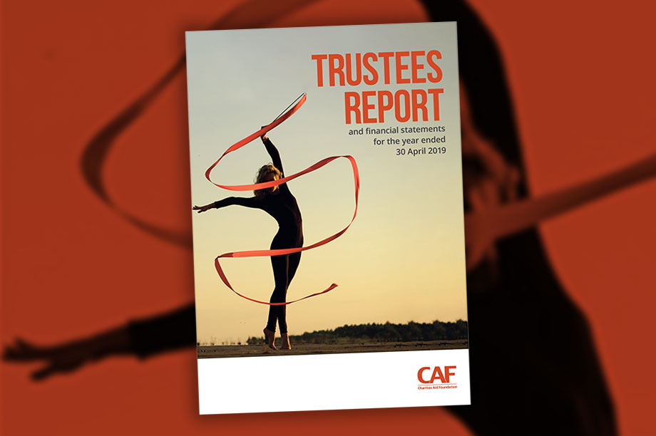The Charities Aid Foundation report and accounts