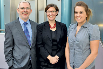 ISS UK's corporate responsibility team