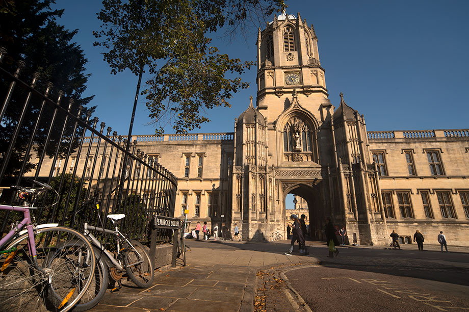 Christ Church, Oxford University (Photograph: Tracy Packer/Contributor/Getty Images)