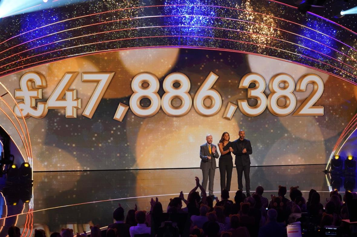 Children in Need presenters reveal the total