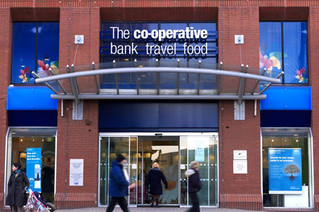 Co-op Bank: closed down a number of accounts