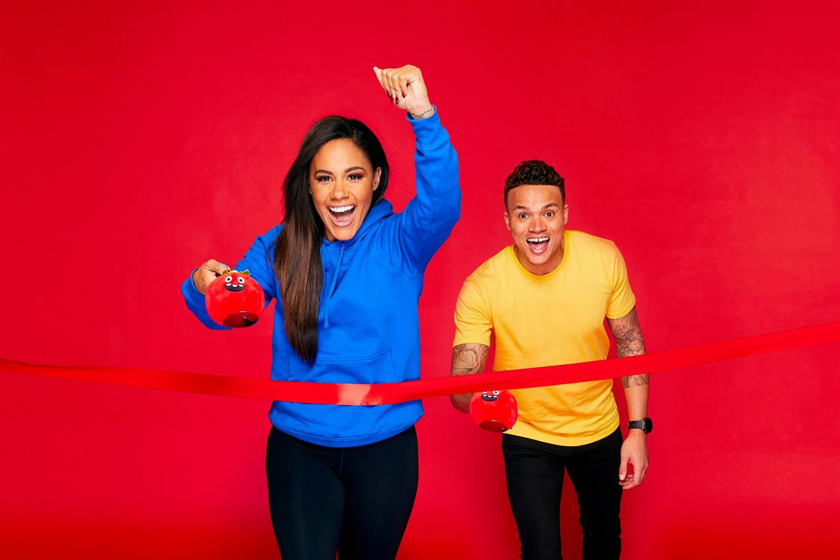 The One Show's Alex Scott and Jermaine Jenas promote Red Nose Day (Photograph: Nicky Johnston/Comic Relief via Getty Images)