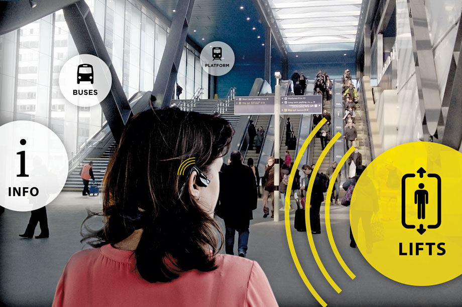 Cities Unlocked: headset and navigation app for people with sight loss