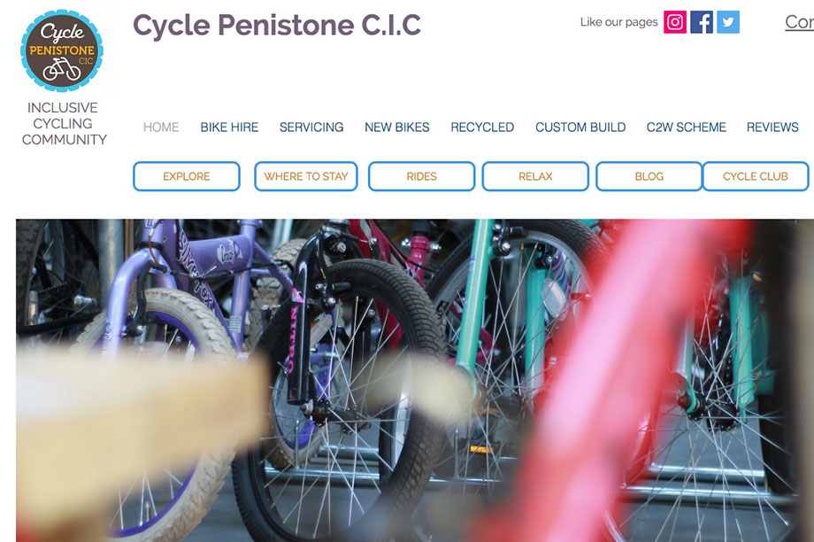 Cycle Penistone: received £5,000