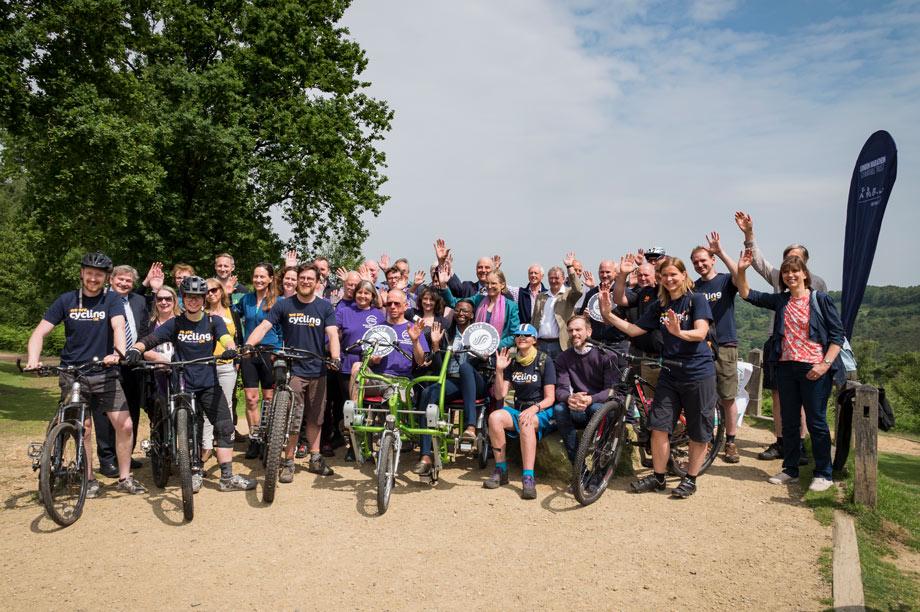 Cycle Surrey Hills: recipient of grant