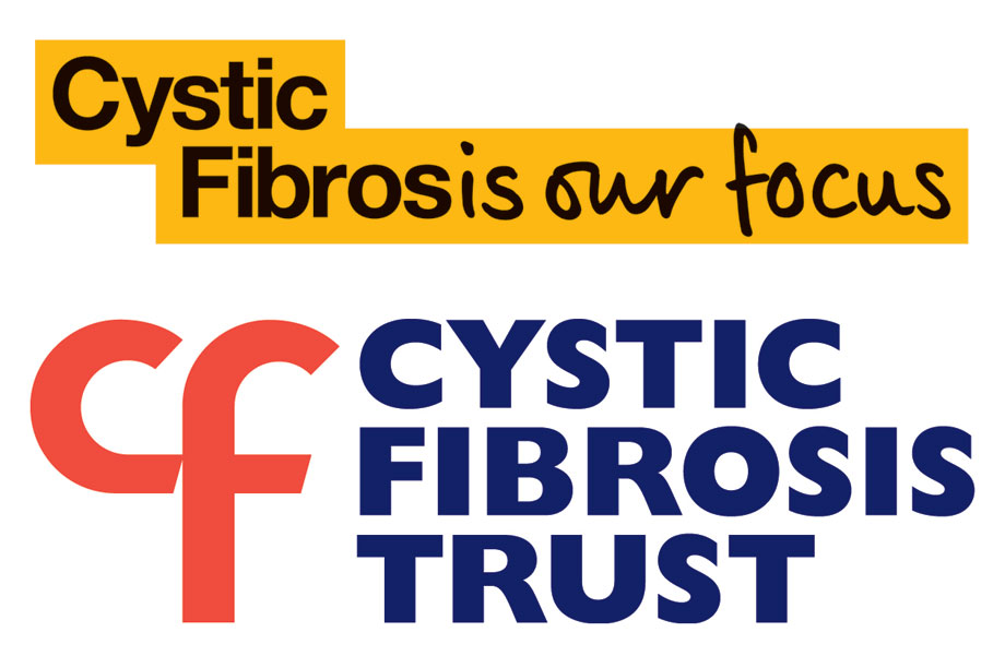 The Cystic Fibrosis Trust's new (above) and old logos