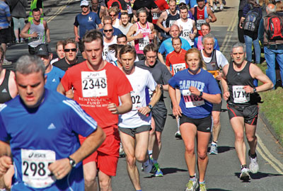 Marathon runners raise money for charity