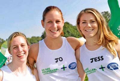 Hannah Miley, Jo Jackson and Jess Varnish [l-r]