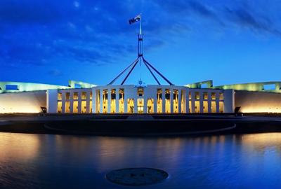 Australian parliament building