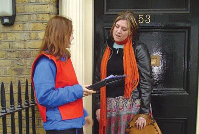 Door-to-door fundraising: province of the PFRA