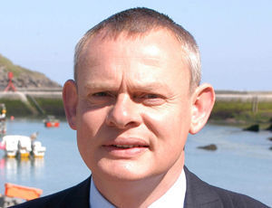 Martin Clunes supports Julia's House