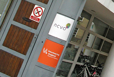 NCVO and Volunteering England