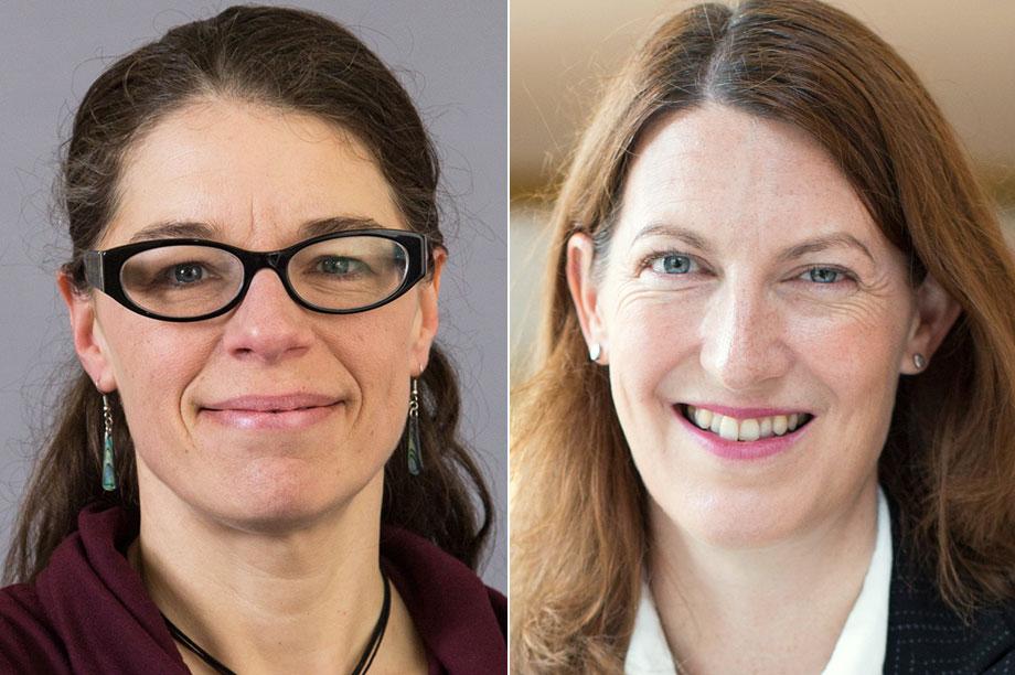 Angela Eikenberry and Beth Breeze