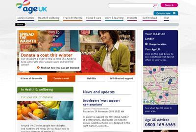 Age UK website