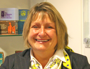 Liz Showell, fundraising director, The Children's Society