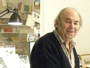 Quentin Blake supports the Book Bus Foundation
