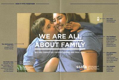 SSAFA's rebrand focuses on the family