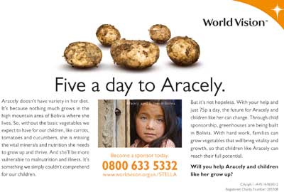 World Vision's appeal