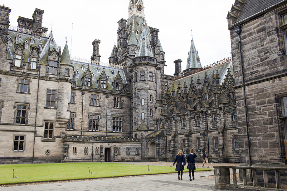 Fettes College in Scotland (Photograph: Peter Dench/Getty Images Reportage)