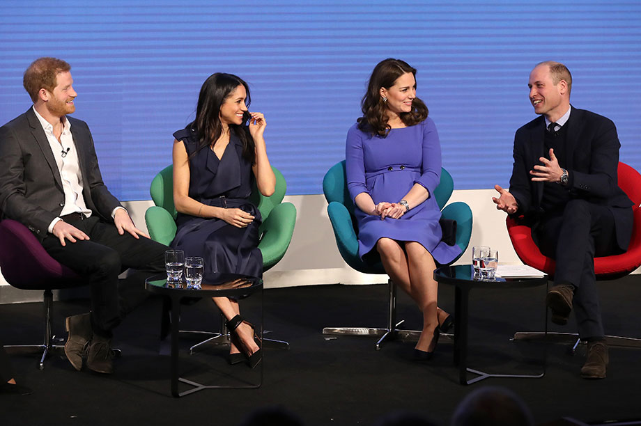 The four royals attend a Royal Foundation event last year (Photograph: Chris Jackson/WPA Pool/Getty Images)