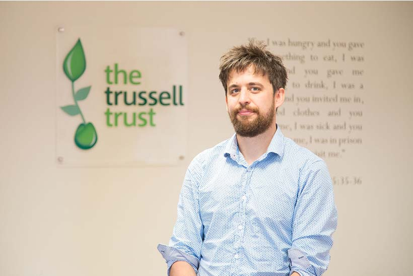 Garry Lemon, director of policy, external affairs and research, The Trussell Trust