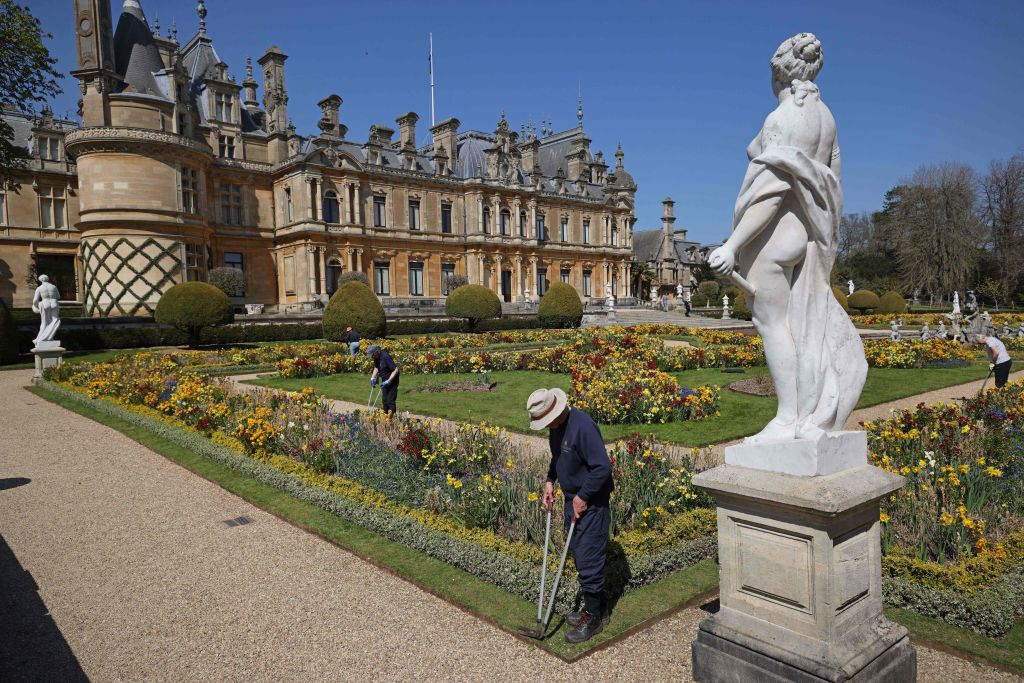 Waddesdon Manor: Photo by ADRIAN DENNIS/AFP via Getty Images