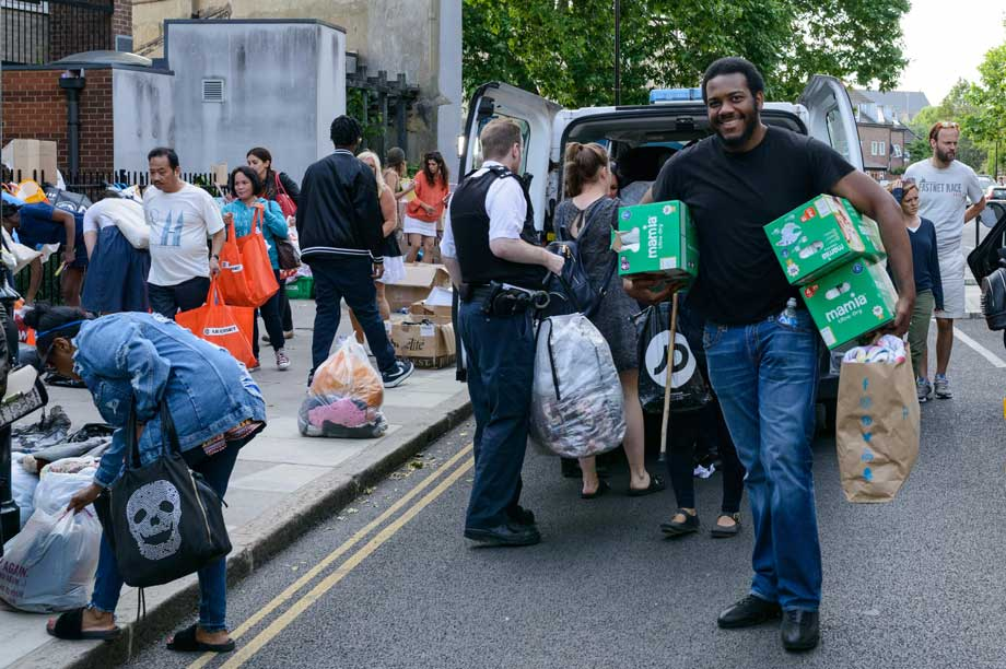 The aftermath of Grenfell