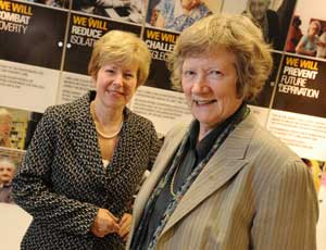 Jo Connell (left) and Catherine McLoughlin