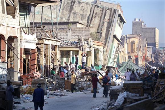 The 2010 earthquake