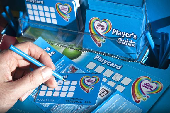Society lotteries include the Health Lottery