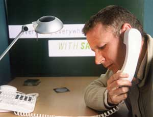 Hotline: Samaritans has seen a 25 per cent increase in the number of calls