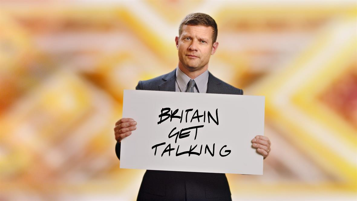 Dermot O'Leary gets the message