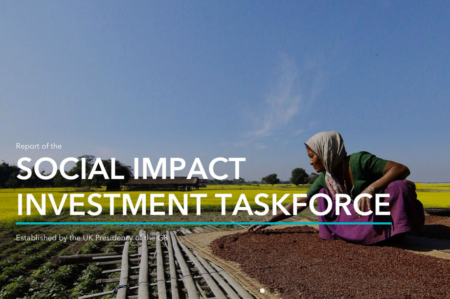 The Social Impact Investment Taskforce report