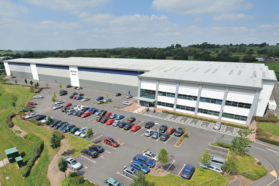 The John Lewis distribution centre in Redditch is owned by the CPF