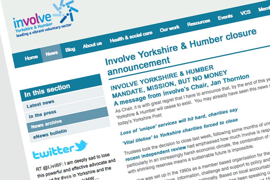 Involve announces its imminent closure