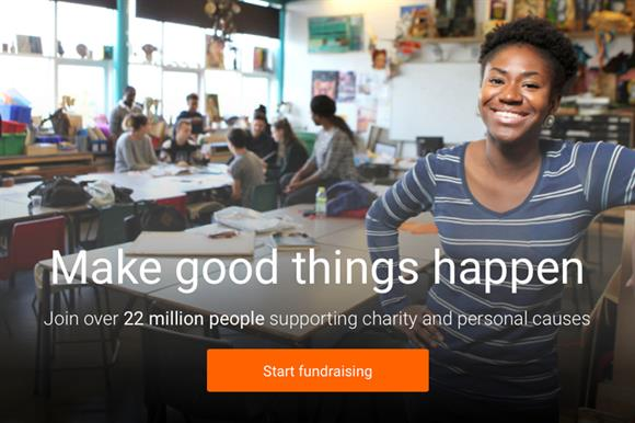 JustGiving: dropping some fees