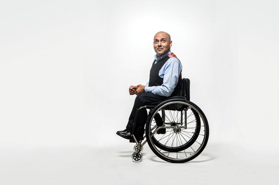 Kamran Mallick, chief executive, Disability Rights UK