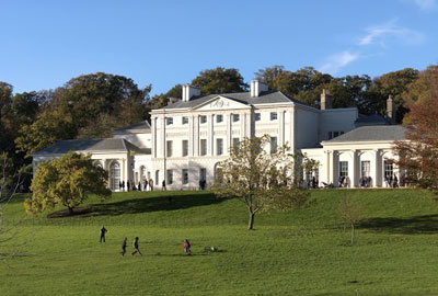 Kenwood House, an English Heritage site in Hampstead, north London