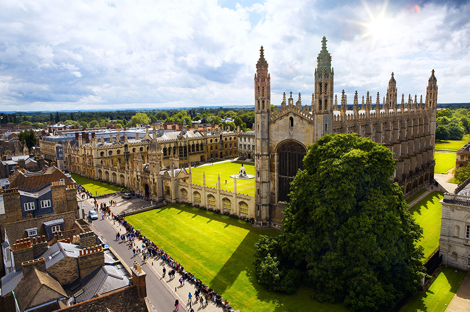 Kings College Cambridge (Photograph: Getty Images)